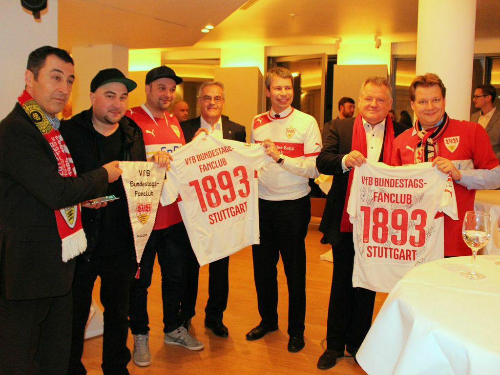 VfB-Fanclub im Bundestag gegründet